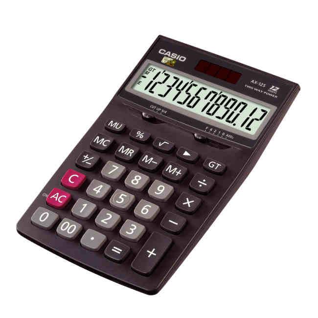 卡西欧 计算器 商务办公型计算机 AX-12S